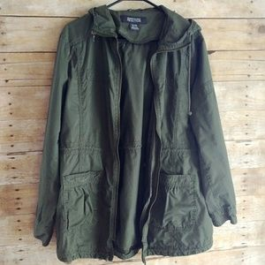 Kenneth Cole Reaction XL Hooded Light Jacket